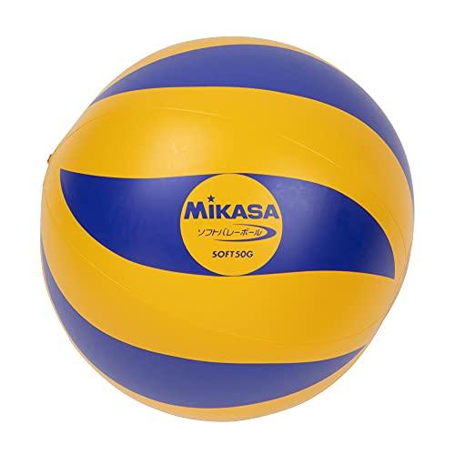 ミカサ(MIKASA) ソフトバレーボール 教材用 (ビニールタイプ) 50g SOFT50G