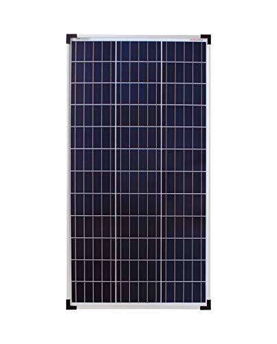 enjoy solar® Poly 80W 12V panel solar policristalino célula solar ideal para casas móviles, cobertizos de jardín, barcos