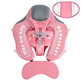 Upgrade Mambobaby Float for Infant Waist Swimming Ring Swim Trainer Life Vest Non-Inflatable Floats Toys with Adjustable Safety Strap (Flamingo)
