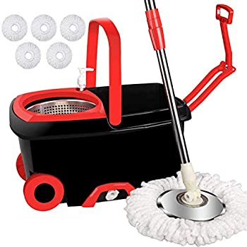Letton Floor Mop With Bucket Review
