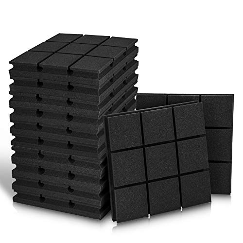 2' X 12' X 12' Acoustic Foam Panels, Studio Wedge Tiles,...