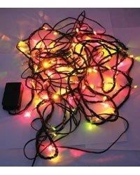 Lunartec Guirlande 100 LED Multicolores