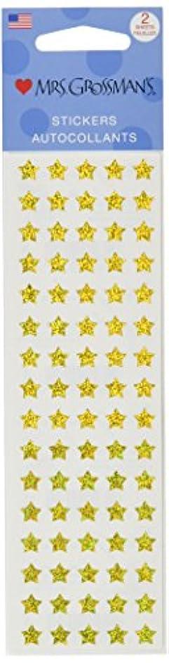 Mrs Grossman Stickers, Micro Gold Stars