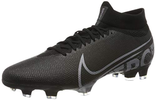 Nike Superfly 7 Pro FG, Zapatillas de Fútbol Hombre, Negro (Black/Metallic Cool Grey/Cool Grey 001), 47 EU