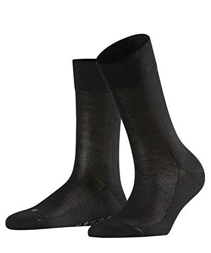 FALKE Damen Socken Sensitive Malaga - 96% Baumwolle, 1 Paar, Schwarz (Black 3009), Größe: 35-38