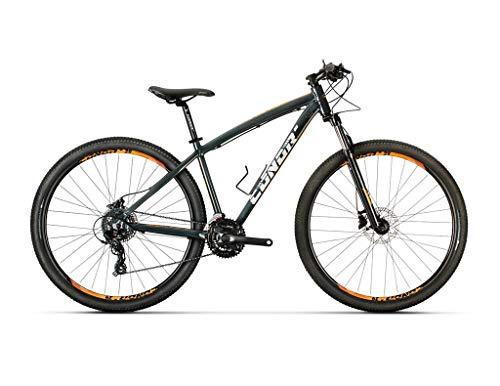 Conor 6700 29' Bicicleta, Adultos Unisex, Negro/Naranja (Multicolor), S