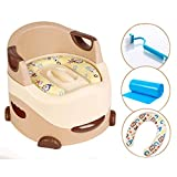 Baby Potty, Asiento de inodoro multifuncional para niños Material de PP + PU...