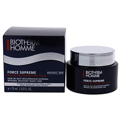 Biotherm Homme Force Supreme Black Regenerating Care Gesichtscreme, 75 ml