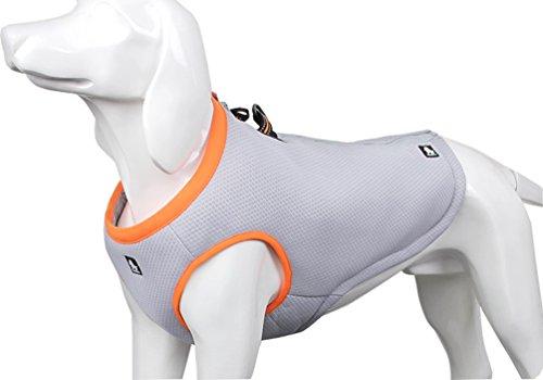 SGODA Dog Cooling Vest Harness Cooler Jacket for Pugs