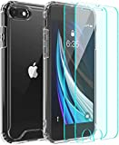 Temdan Hülle Kompatibel mit iPhone SE 2020 Hülle, iPhone 8 Hülle, iPhone 7 Hülle, HD Transparent...