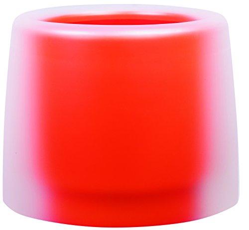 Hobbyflower 54x40cm kleur doorschijnend ijs/oranje pompoen