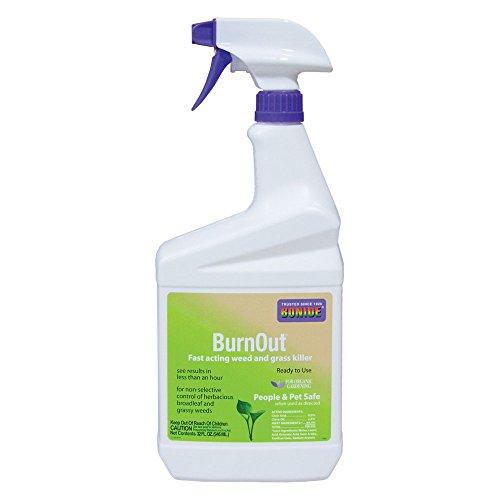 Bonide 037321074908 7490 1 Quart Ready to Use Burnout Weed & Grass Killer