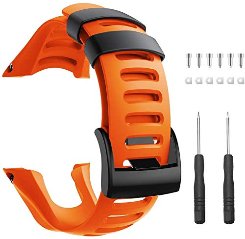 Tyogeephy Compatible con Suunto Ambit 3 Correa de Reloj, Banda de Repuesto para Suunto Ambit 3 Strap – Correa de Reloj Premium para Suunto Ambit 3 Peak, 3 Sport, 3 Run, 2R, 2S, 2, and 1