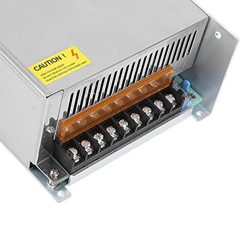 Controlador de fuente de alimentación Controlador de tira de luz LED Durable Alta eficiencia de trabajo para automatización industrial(S-1000-36 (36V/27.8A/1000W) AC170-250V, pink)