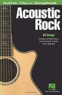 Acoustic Rock: Guitar Chord Songbook (6 inch. x 9 inch.)