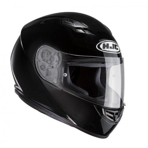 HJC Motorradhelm CS 15, Schwarz, Größe XL