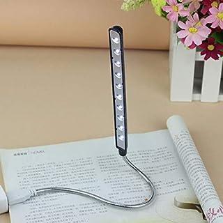 أضواء كتاب - مصباح USB محمول قراءة كتاب قراءة كتابة، ضوء ليلي مشحون بواسطة كمبيوتر شخصي باور بنك كمبيوتر محمول مصباح مكتب ...