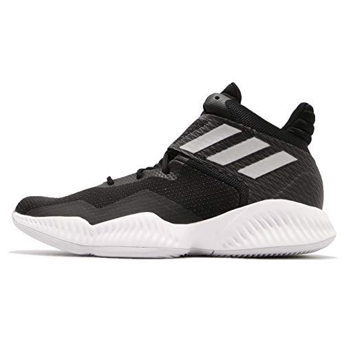 adidas Explosive Bounce 2018, Zapatos de Baloncesto Hombre, Negro (Cblack/Silvmt/Lgsogr Cblack/Silvmt/Lgsogr), 47 1/3 EU
