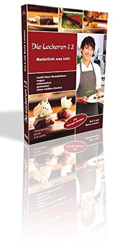 Rohkost Rezepte: Die leckeren 12 – Teil 2 mit Boris Lauser – Vegane Rezepte & Raw Food mit Rezepte-Heft – Roh Vegan & Rohkost für Einsteiger auf DVD