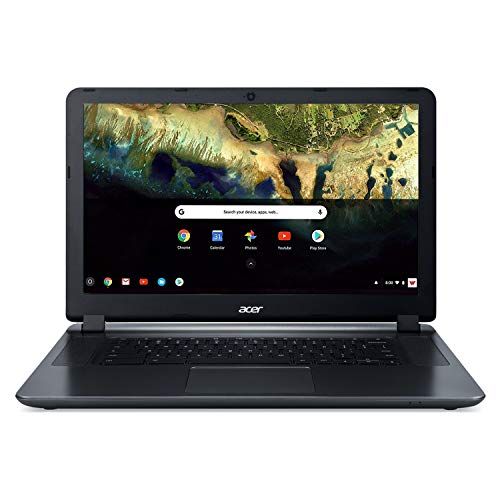 Acer Chromebook 15 CB3-532-C42P, Intel Celeron N3060, 15.6' HD Display, 4GB LPDDR3, 16GB eMMC, Granite Gray, Google Chrome