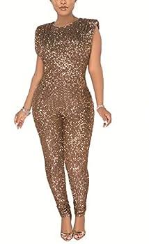 glitter one piece jumpsuit