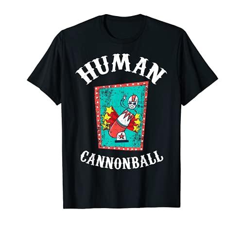 Camisa de circo, Disfraz de bala humana Camiseta