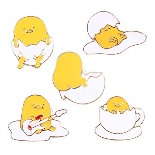 GMZQQ Delicate brooch Cute Hatching Egg Chicks Brooch Gown Gift Random Bag Match Animal Lovely Style Random Child Egg Alloy Stylish And Beautiful Brooch Is Worth Buying