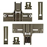 6Pack Upgraded Dishwasher Top Rack Adjuster W10350376(2) W10195839(2) W10195840(2) for kenmore elite, kitchen...