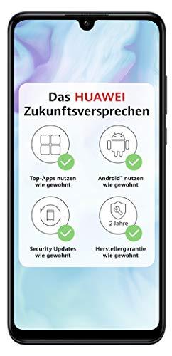 HUAWEI P30 lite Dual-SIM Smartphone B&le (6,15 Zoll, 128 GB ROM, 4 GB RAM, Android 9.0) schwarz + Micro SD 16GB Speicherkarte [Exklusiv bei Amazon] - DE Version