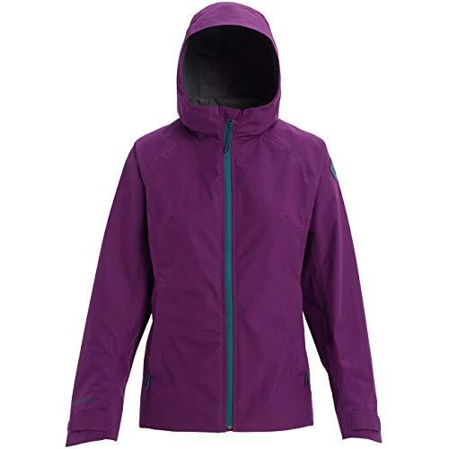 Burton W WB Gore-Tex Packrite Jacket Lila/Violett, Damen Gore-Tex Regenjacke, Größe S - Farbe Charisma
