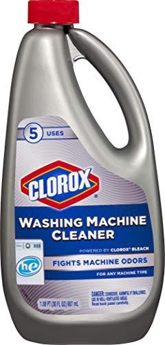 Clorox Washing Machine Cleaner, 30 Ounce Bottle
