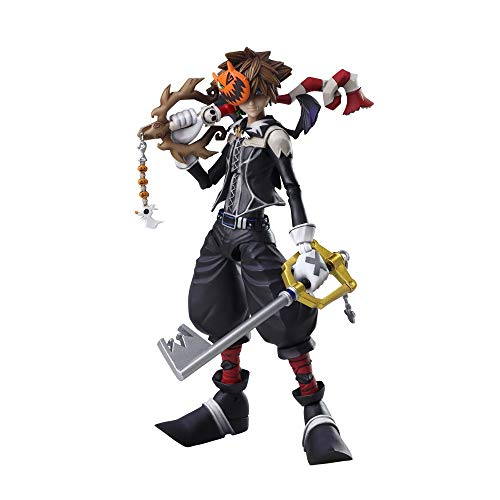 Square Enix Bring Arts Kingdom Hearts 2 Sora Halloween Town Ver. Action Figure