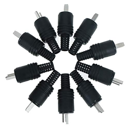 Boomeet 1 Stück 2 Pin DIN Stecker MIDI Kabel Stecker auf Buchse Stecker Kit Kabel & Leitungen