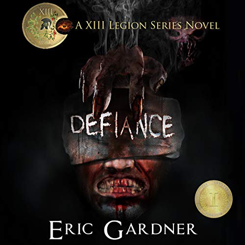 Defiance     Thirteenth Legion Series, Book 1              By:                                                                                                                                 Eric Gardner                               Narrated by:                                                                                                                                 Meral Mathews                      Length: 5 hrs and 8 mins     34 ratings     Overall 4.5