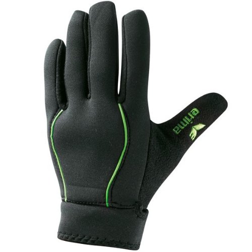 Erima Feldspieler Handschuh, schwarz/Green, 6, 722908