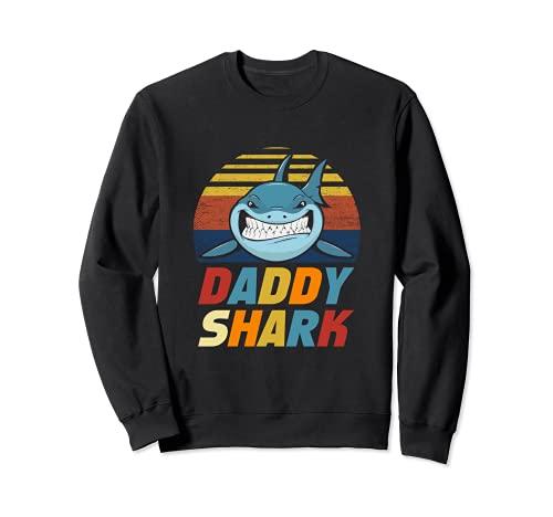 Enjoy Funny Cool Daddy Shark Novelty Graphic Cool Designs Sudadera