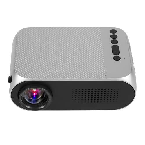Home Projector Accessories, Home Media Player Proyectores Multimedia HD 1080P Proyector LED Mini portátil con para Hombres Mujeres para Cine en casa(Estándar Europeo (100-240v))