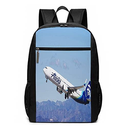 Mochila Escolares Estados Unidos March Airlines Aeronaves, Mochila Tipo Casual para Niñas Niños Hombre Mujer Mochila para Ordenador Portátil Viaje