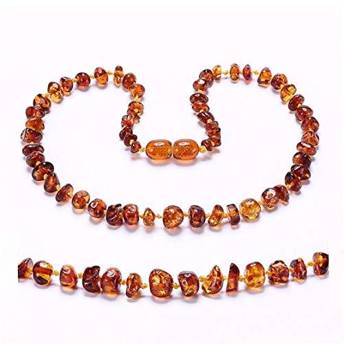 shentaotao La Dentición Báltico Collar/Pulsera para Amber - Caja De Regalo - 5 Tamaños 4 - Colores - Envíos Desde EE.UU. Y Reino Unido Y del Au Y Cn