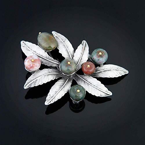 1 Pieza Hermoso Broche Creativo Vintage Boutonniere Fashional Pin Broche para Citas de Boda Lumanuby