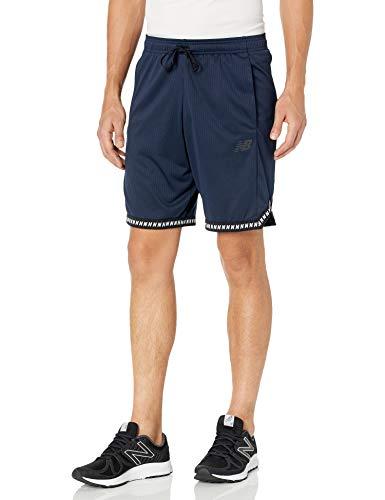 New Balance Men's Iso Short, Eclipse, XX-Large