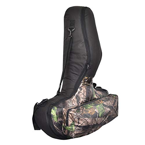 Sanmum Bogenschießen Tasche in T-Form, tragbare Tragetasche für Bogenschießen im Freien, Armbrusttasche aus Oxford für Bogensport