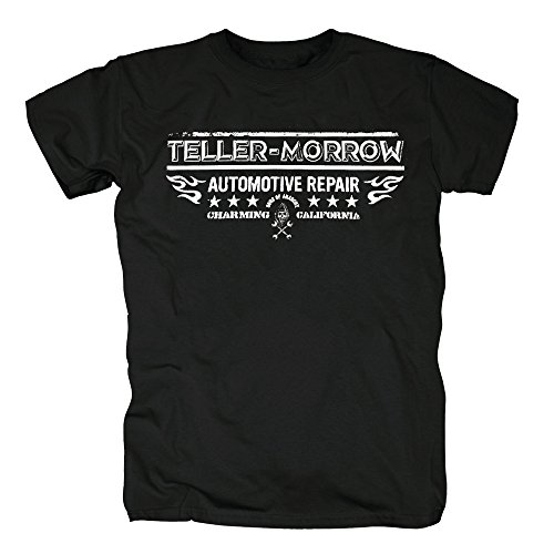 TSP Sons of Anarchy - Teller Morrow Repair T-Shirt Herren S Schwarz