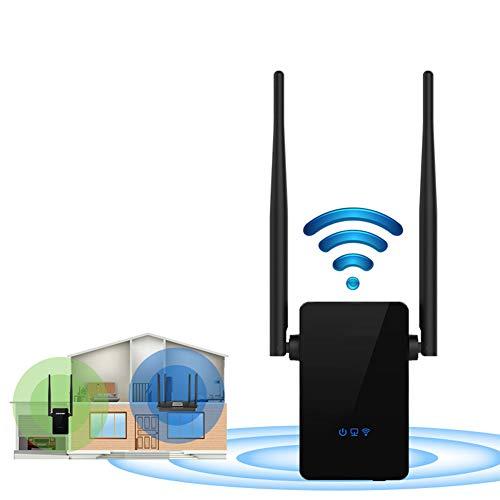 AOUVIK Repetidor WiFi inalámbrico, Extensor WiFi de Red 802.11n / b/g 300Mbps, repetidor Amplificador de señal Amplificador de señal