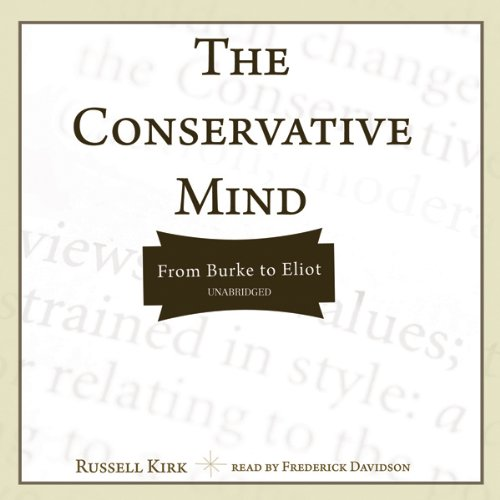 The Conservative Mind audiobook cover art
