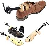Jinxuny Expansor de zapatos para mujeres y hombres, 2 vías ajustable, unisex, ampliador de zapatos para estirar, longitud anchura y altura