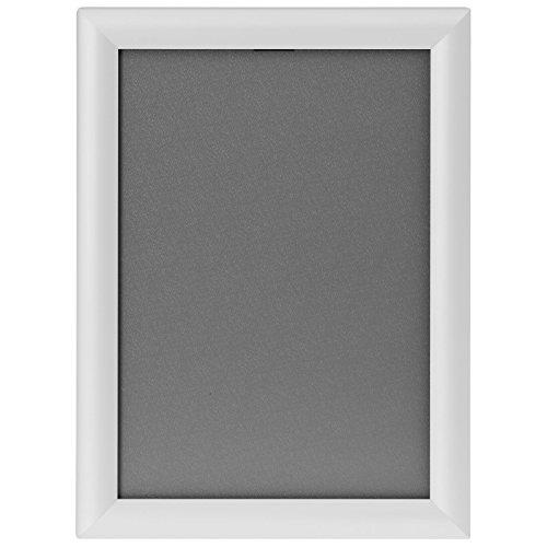 kaufdeinschild Weißer A3 Klapprahmen auf Gehrung Snap Frame 25mm Plakatrahmen Posterrahmen