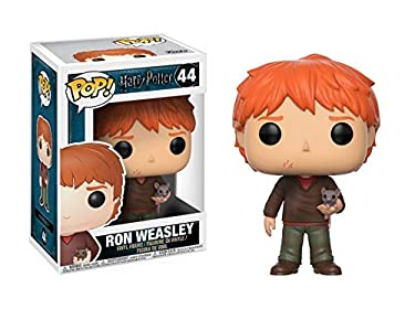 Funko Pop Movies Harry Potter-Ron Weasley with Scabbers Toy