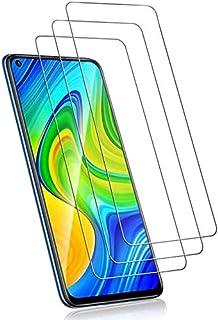3 قطع واقي شاشة من الزجاج المقسى لجهاز Xiaomi Redmi Note 9s / Note 9 Pro / Note 9 Pro Max/Poco M2 Pro