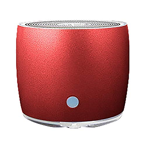 Bradoner Soundbar rojo altavoz Bluetooth altavoz portátil al aire libre HiFi altavoz inalámbrico portátil estéreo BT 5.0 USB altavoz TF tarjeta